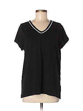 Carole Hochman Short Sleeve T-Shirt Size M