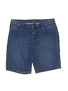 Lauren by Ralph Lauren Denim Shorts Size 16