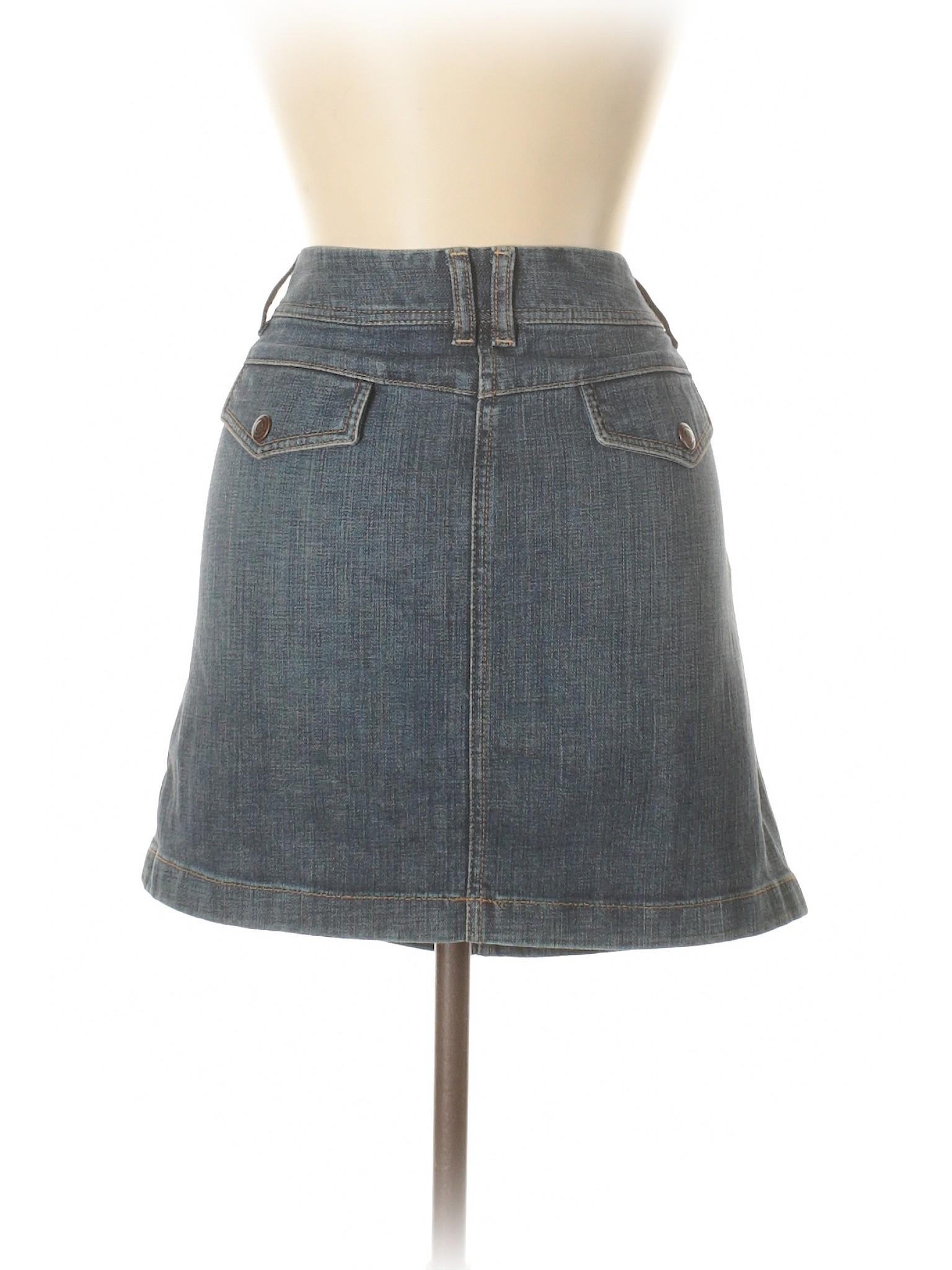 Leisure LOFT Skirt Taylor Denim winter Ann CYq1wZa