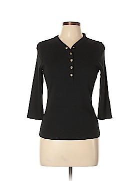 L-RL Lauren Active Ralph Lauren 3/4 Sleeve Henley Size M (Petite)