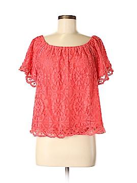 BB Dakota Short Sleeve Blouse Size M