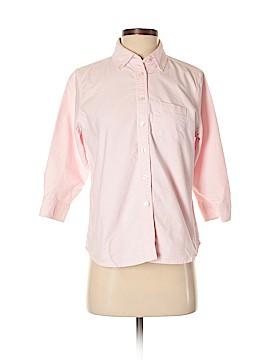 L.L.Bean 3/4 Sleeve Button-Down Shirt Size XS (Petite)