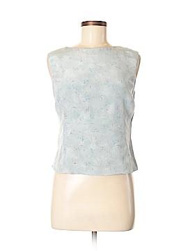 Rena Rowan Sleeveless Silk Top Size 8