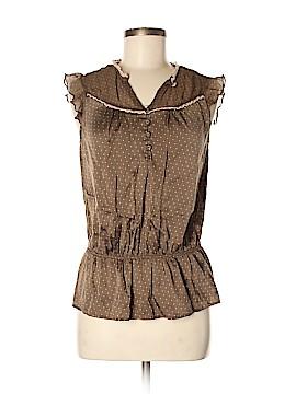 Express Design Studio Sleeveless Silk Top Size M