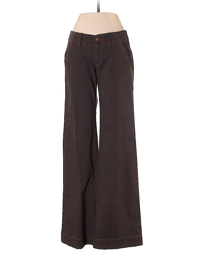 Burning Torch Women Khakis Size 0
