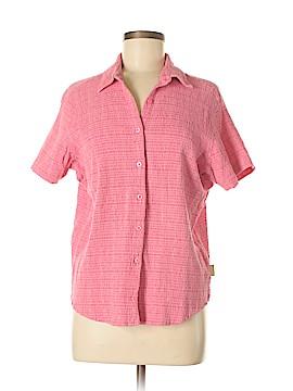 Woolrich Short Sleeve Button-Down Shirt Size L
