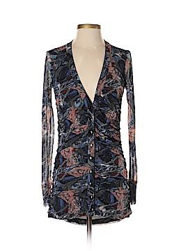Vivienne Vivienne Tam Long Sleeve Button-Down Shirt Size XS (0)