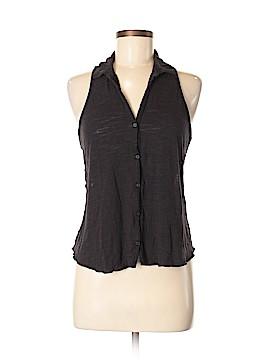 Aeropostale Sleeveless Button-Down Shirt Size M
