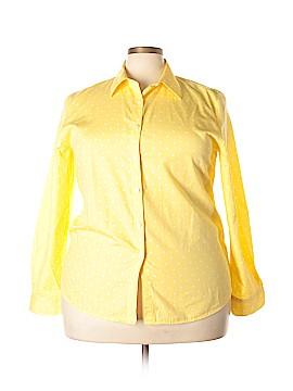 Orvis Long Sleeve Button-Down Shirt Size 20 (Plus)