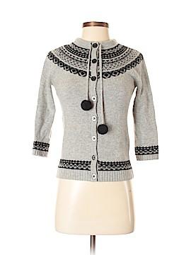 Aqua Wool Cardigan Size XS