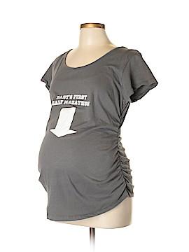 Cafe Press Short Sleeve T-Shirt Size L (Maternity)