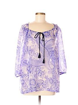 Daisy Street 3/4 Sleeve Blouse Size XL