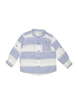 Koala Baby Long Sleeve Button-Down Shirt Size 9-12 mo
