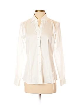 Foxcroft Long Sleeve Button-Down Shirt Size 6