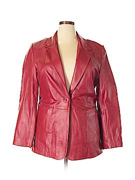 Denim Co Leather Jacket Size XL