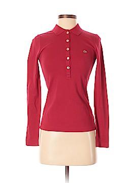 Lacoste Long Sleeve Polo Size 34 (EU)