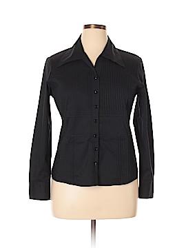 Samuel Dong Long Sleeve Button-Down Shirt Size XL
