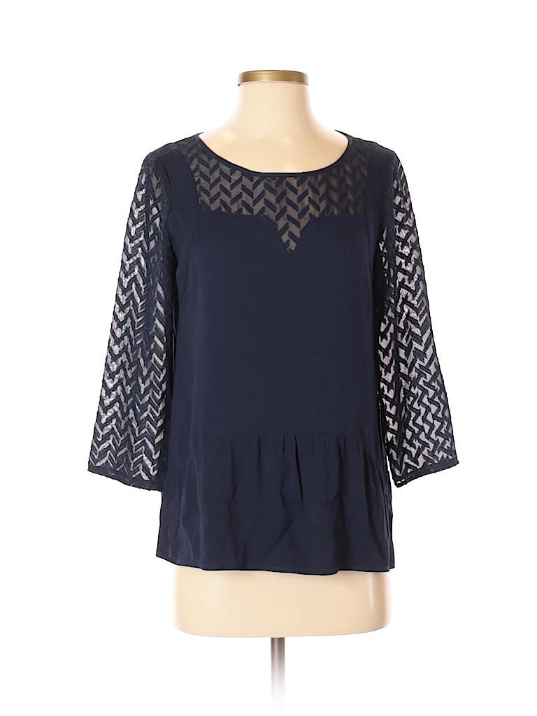 Glimmer Women Long Sleeve Blouse Size S