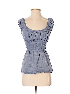 Max Studio Short Sleeve Blouse Size M (Petite)