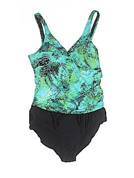 Jantzen Classics One Piece Swimsuit Size 14