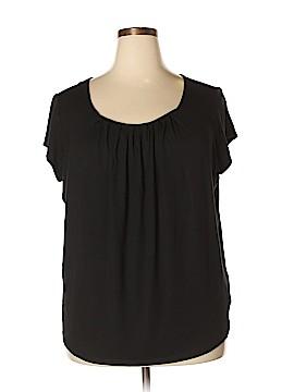 Anne Klein Short Sleeve Top Size 3X (Plus)