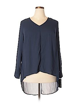 Pure Energy Long Sleeve Blouse Size 1X (Plus)