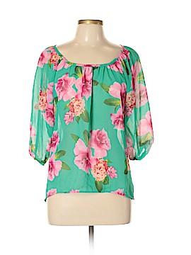 Liberty Love 3/4 Sleeve Blouse Size L
