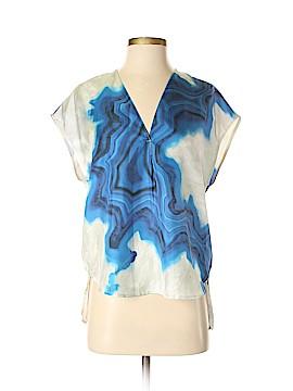 3.1 Phillip Lim Short Sleeve Silk Top Size 0