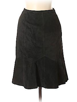 Alfani Leather Skirt Size 2 (Petite)