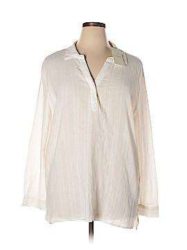 St. Tropez West Long Sleeve Blouse Size XL