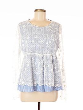 Trafaluc by Zara Long Sleeve Top Size XL