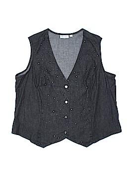 D&Co. Vest Size 1X (Plus)