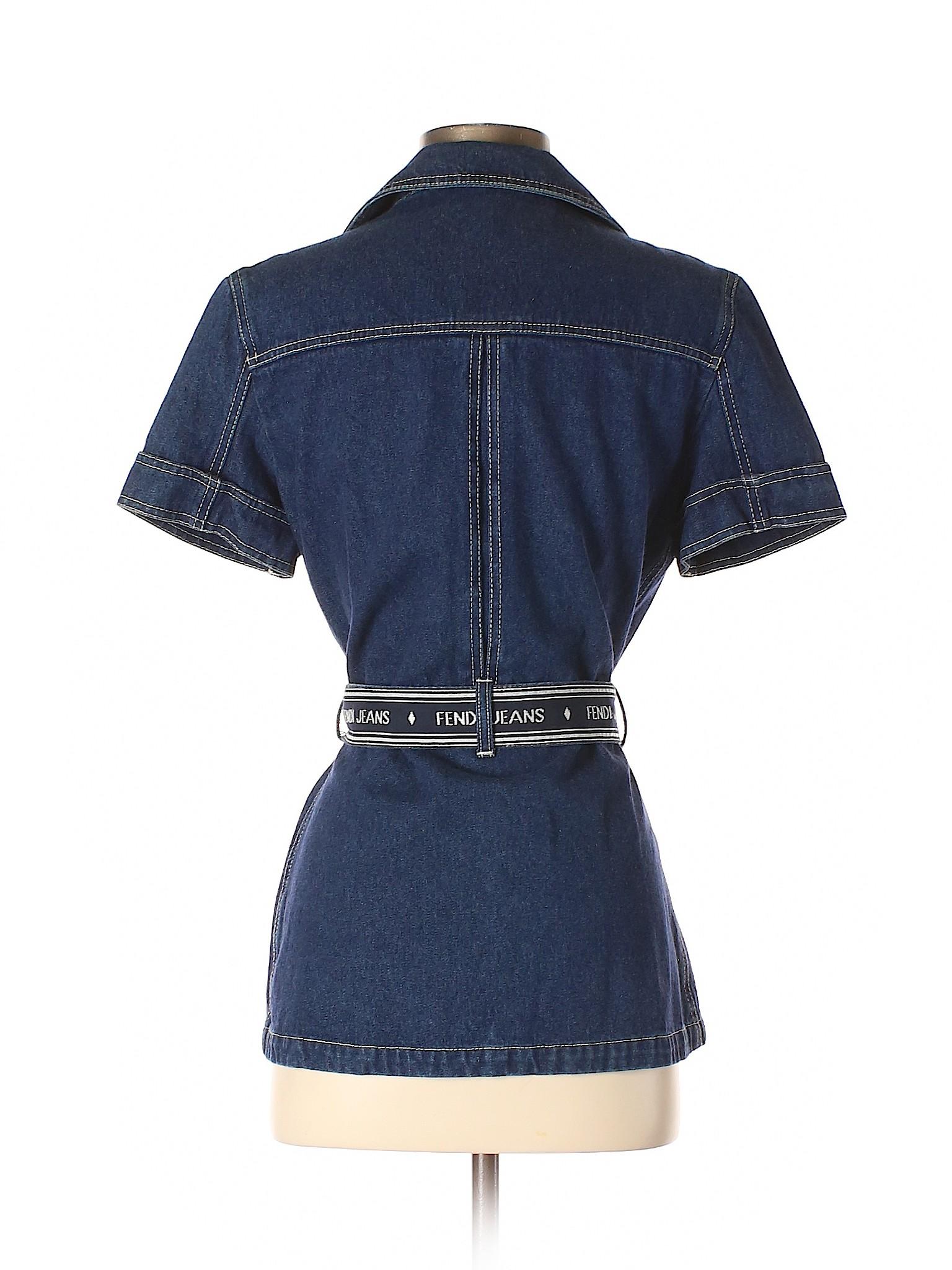 winter Boutique Jeans Fendi Jacket Denim x8F8Uw