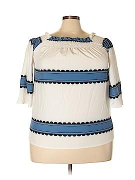 HaoDuoYi 3/4 Sleeve Top Size XXL