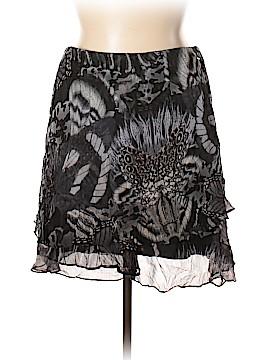 Isda & Co Silk Skirt Size XL