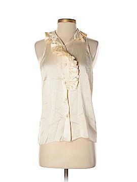 Lela Rose Sleeveless Silk Top Size 4
