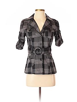 Von Mozart 3/4 Sleeve Button-Down Shirt Size S