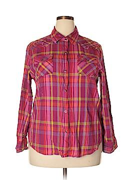 Gibson Long Sleeve Button-Down Shirt Size XXL