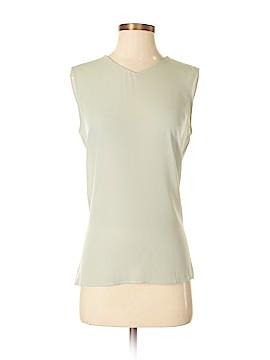 Armani Collezioni Sleeveless Silk Top Size 6