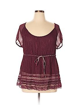 Venezia Short Sleeve Blouse Size 14 Plus (1) (Plus)