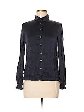 Patrizia Pepe Long Sleeve Silk Top Size 40 (EU)