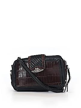 M.C Leather Crossbody Bag One Size