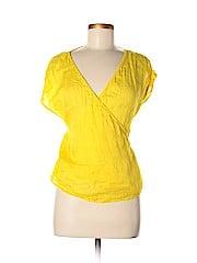 Zara Basic Women Short Sleeve Blouse Size M