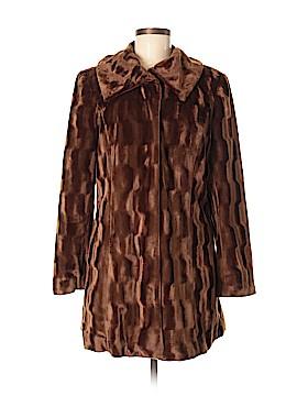 Alfani Faux Fur Jacket Size M (Petite)