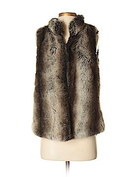 Kenar Faux Fur Vest Size S