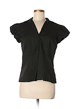 Ann Taylor Factory Short Sleeve Button-Down Shirt Size 12