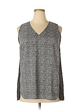 PREMISE Sleeveless Blouse Size 1X (Plus)