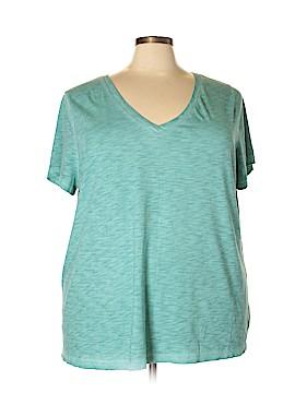 Ava & Viv Short Sleeve T-Shirt Size 4X (Plus)