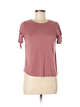 Topshop Short Sleeve T-Shirt Size 4 (Petite)