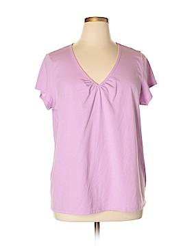 Kmart Short Sleeve Top Size 1X (Plus)